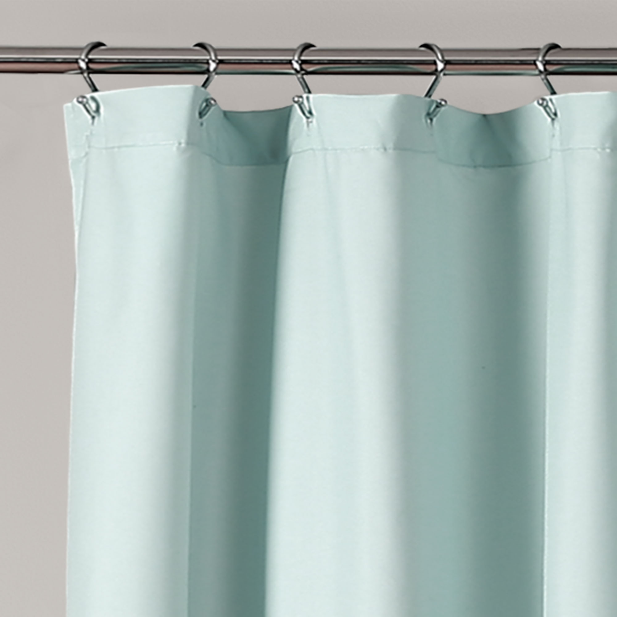 ella lace ruffle shower curtain white 72x72 ebay. Black Bedroom Furniture Sets. Home Design Ideas